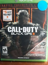 Call of Duty Black Ops 3 Xbox One game case Reading, 19606