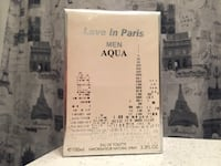Love in Paris man fragrance cologne NEW in box. Hamilton, L8P 1H9