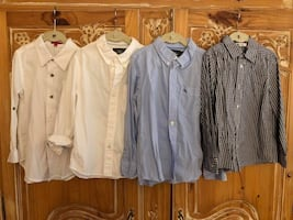 Boys Dress Shirts, Sizes 6/7