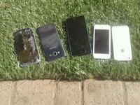 6 phones $90 Langley Township, V4W 3C9