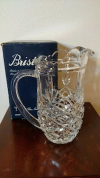 Bristol Crystal Pitcher Altamonte Springs, 32701