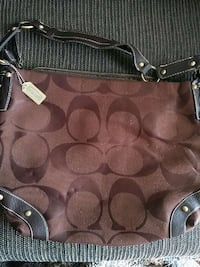 brown coach monogram shoulder bag Capitol Heights, 20743
