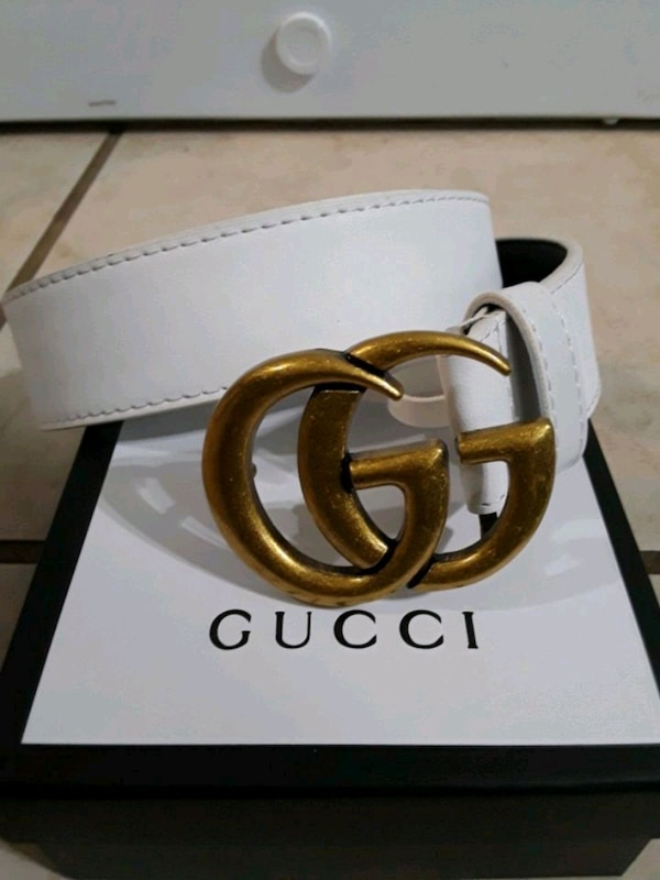 6fe34280e0c Used brown leather Gucci belt with box for sale in Montgomery - letgo