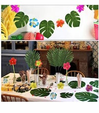 "96pcs Tropical Party Decoration Supplies 8""  Arlington, 22205"