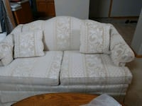Couch and love seat.  Neutral color like brand new.   No stains. Clean Eagan, 55123