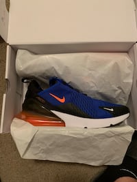 blue-and-black Nike basketball shoes with box Toledo, 43614
