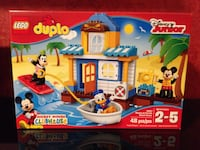 New Lego Duplo Mickey Mouse Clubhouse Beach Houe Pittston, 18640