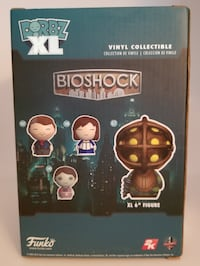 UNOPENED! NEW in box: Funko Dorbz XL: Bioshock Action Figure-Big Daddy Cicero
