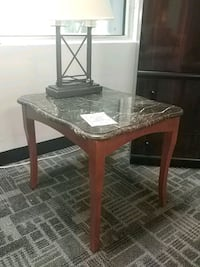 Ra marble top side table Mississauga