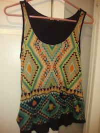 women's multicolored sleeveless top Chattanooga Valley, 30725