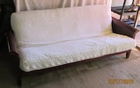 Wood Futon Frame and Full Mattress Leesburg