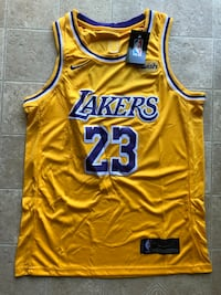 Lebron James yellow lakers jersey with tags size medium Alexandria, 22306