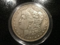 1881 o Morgan dollar  Xenia, 45385