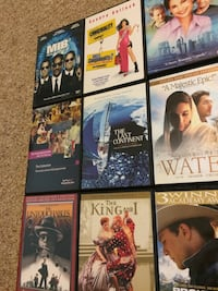 DVD Movies $2 each  Surrey