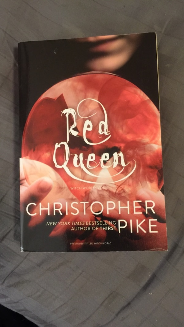 Red queen by christopher pike book