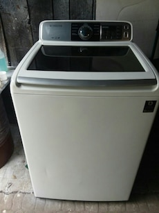 #1722 Samsung heavy duty top load washer