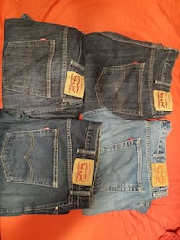 LEVI'S 559 JEANS W44 L32 $35 EACH OR $100 FOR ALL