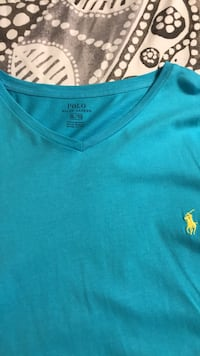 Blue polo by ralph lauren crew neck shirt San Antonio, 78245