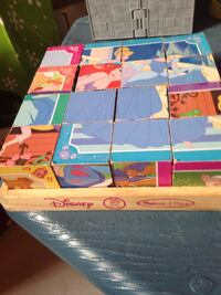 Wooden block princess puzzle  Bradford West Gwillimbury, L3Z
