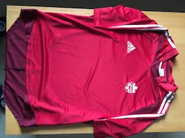 Canada soccer jersey