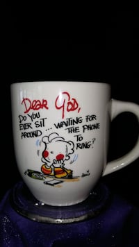 dear god coffee cup