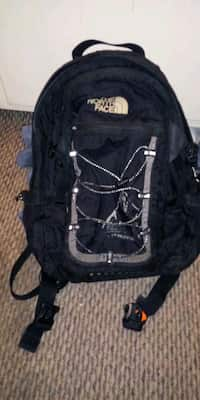 a137aa554a Used Black and red the north face backpack for sale in Kernersville ...