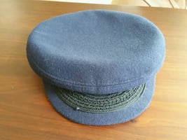 Totes Navy Blue Wool Skippers Hat