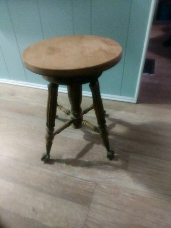 Cool Vintage Wood Piano Stool Claw Feet Caraccident5 Cool Chair Designs And Ideas Caraccident5Info
