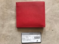 Prada Red Wallet Cüzdan