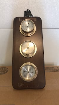 VINTAGE SPRINGFIELD INSTRUMENTS THERMOMETER BAROMETER HUMIDITY Littlestown, 17340