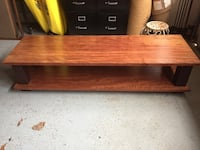 Coffee table or TV stand, handmade from solid wood Bethesda, 20817