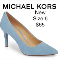 unpaired blue and brown pointed-toe stiletto El Paso, 79912