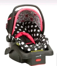 baby's black and red car seat carrier Chandler