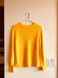 Cozy Yellow Sweater (size XS)