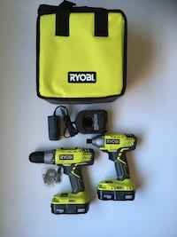 Ryobi 18 Volt Drill and Impact Driver