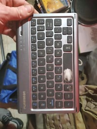 Bluetooth keyboard.