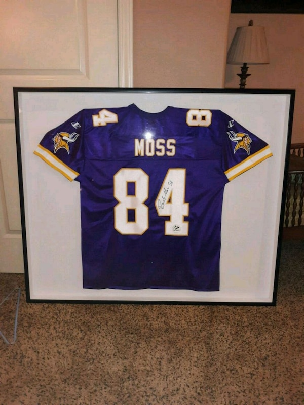 on sale 6f90e 0876b Randy Moss Rookie Autographed Jersey
