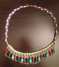 Pier One Multicolor Beaded Necklace