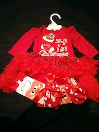 baby 1st Christmas outfit. 3 to 6 months Brampton, L6Y 5C8
