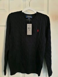 New with tag - Polo Navy Sweater for 8 yr old Fairfax, 22033