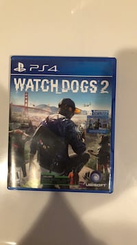 Watch dogs 2 ps4 game Fulton, 20759