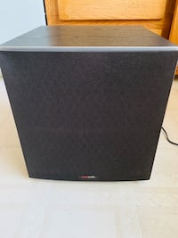 Polk audio 10 inch powered house sub.    Burnaby, V5E 2P4