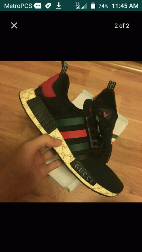 f8662b44dc1e0 Used New mens size 11 adidas gucci nmd lv jordan yeezy for sale in ...