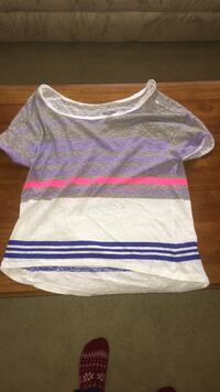 American Eagle Aerie striped tee Indianapolis