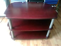red and gray wooden TV stand Acton, L7J 1K6