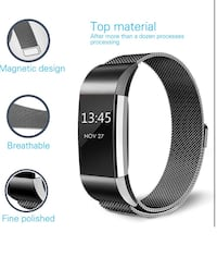 Fitness Wristband For Fitbit Charge 2, Large, Black 2279 mi