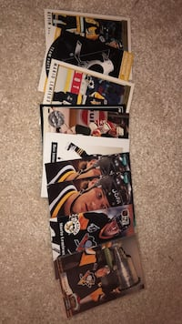 Hockey limited edition penguins cards Sterling, 20165