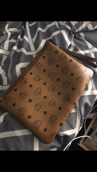 brown Louis Vuitton Monogram leather bag Silver Spring, 20904