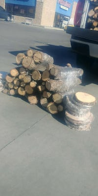 brown firewood lot El Paso