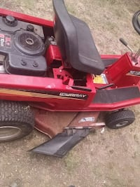 red and black riding mower Lawton, 73507
